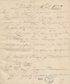 [Gazety pisane z Warszawy z 1775 roku]