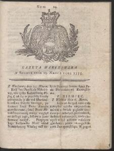 Gazeta Warszawska. R.1775 Nr 24