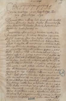 Konstytucje sejmu walnego warszawskiego roku pańskiego 1593