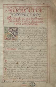 [Miscellanea z lat 1596-1644, zawierające odpisy pism publicystycznych, listów, akt publicznych i innych materiałów odnoszących się przeważnie do spraw politycznych Polski okresu panowania Zygmunta III Wazy]
