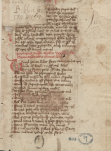 Petri Rigensis Biblia Sacra metrica [cum prologo magistri Aegidii]