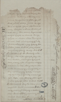 Deskrypcja kredensu Ossolińskich w Turzysku i Ossolinie z 1756-1757