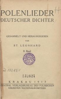 Polenlieder deutscher Dichter. II. Band