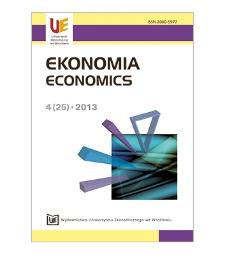 Spis treści [Ekonomia = Economics, 2013, Nr 4 (25)]