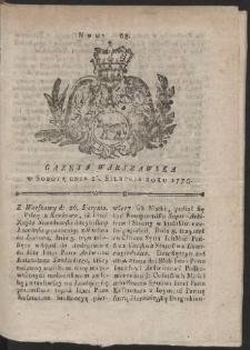 Gazeta Warszawska. R.1775 Nr 68