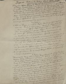 [Zapiski Ferdynanda Dienheim Chotomskiego dotyczące m.in. powstania listopadowego 1831 r.]