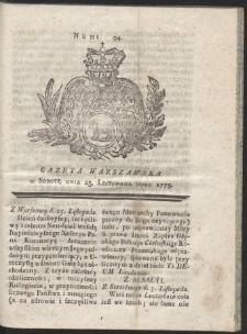 Gazeta Warszawska. R.1775 Nr 94
