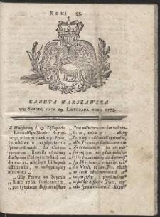 Gazeta Warszawska. R.1775 Nr 95