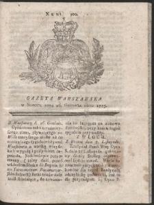 Gazeta Warszawska. R.1775 Nr 100