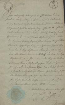 [Papiery osobiste i rodzinne oraz poezje Wincentego Pola z lat 1823-1861]