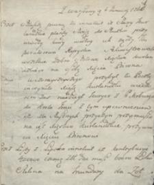 [Gazety pisane z Warszawy z 1763 roku]