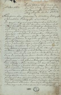 [Akta wójtowskie miasta Grodziska 1785-1788]