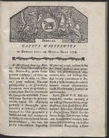 Gazeta Warszawska. R.1778 Nr 21