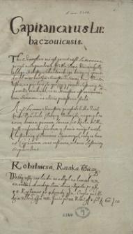 [Lustracja starostwa lubaczowskiego z 1570 roku]