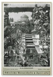 Schlesische Monatshefte : Blätter für Nationalsozialistische Kultur des Deutschen Südostens. 13. Jahrgang, April 1936, Nummer 4