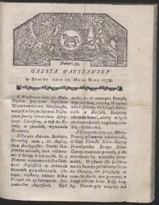Gazeta Warszawska. R.1778 Nr 39