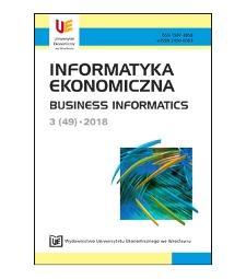 Spis treści [Informatyka Ekonomiczna = Business Informatics, 2018, Nr 3 (49)]