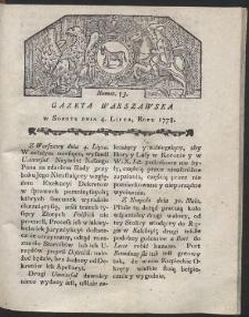Gazeta Warszawska. R.1778 Nr 53