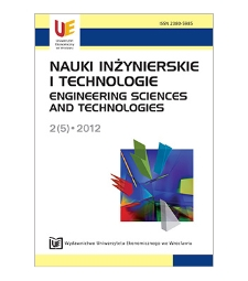 Spis treści [Nauki Inżynierskie i Technologie = Engineering Sciences and Technologies, 2012, Nr 2 (5)]