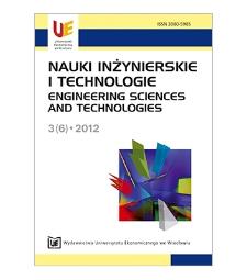 Spis treści [Nauki Inżynierskie i Technologie = Engineering Sciences and Technologies, 2012, Nr 3 (6)]