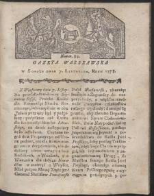 Gazeta Warszawska. R.1778 Nr 89