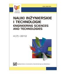 Spis treści [Nauki Inżynierskie i Technologie = Engineering Sciences and Technologies, 2012, Nr 4 (7)]