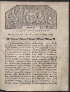 Gazeta Warszawska. R.1778 Nr 90