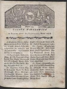 Gazeta Warszawska. R.1778 Nr 93