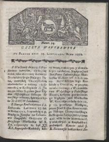 Gazeta Warszawska. R.1778 Nr 94
