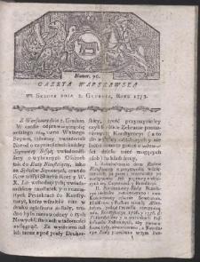 Gazeta Warszawska. R.1778 Nr 96