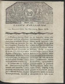 Gazeta Warszawska. R.1778 Nr 102