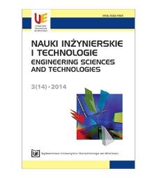 Spis treści [Nauki Inżynierskie i Technologie = Engineering Sciences and Technologies, 2014, Nr 3 (14)]