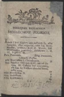 Kalendarz Polityczny Dla Krolestwa Polskiego y Wielkiego Xięstwa Litewskiego Na Rok 1785