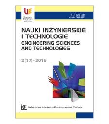 Spis treści [Nauki Inżynierskie i Technologie = Engineering Sciences and Technologies, 2015, Nr 2 (17)]