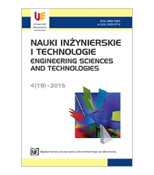 Spis treści [Nauki Inżynierskie i Technologie = Engineering Sciences and Technologies, 2015, Nr 4 (19)]