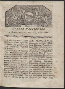 Gazeta Warszawska. R. 1779 Nr 7
