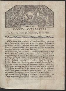 Gazeta Warszawska. R. 1779 Nr 9