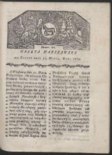 Gazeta Warszawska. R. 1779 Nr 26