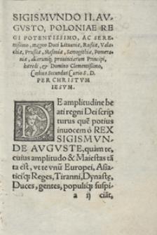 Coelii Secundii Curionis De Amplitudine Beati Regni Dei, Dialogi Sive Libri Duo [...]