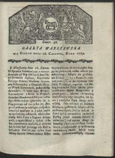 Gazeta Warszawska. R. 1779 Nr 48
