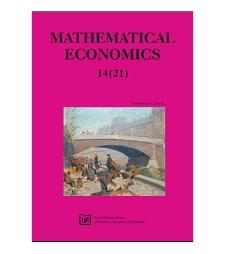 Spis treści [Mathematical Economics, 2018, Nr 14 (21)]