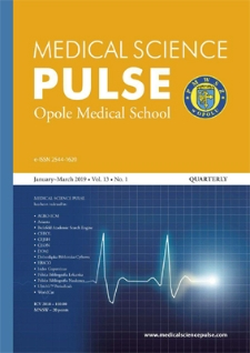 Medical Science Pulse. January-March 2019, Vol. 13, No. 1
