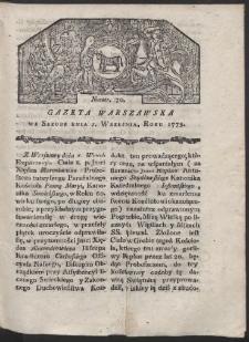 Gazeta Warszawska. R. 1779 Nr 70