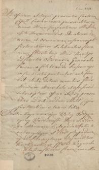 [Instrukcja sejmiku województwa krakowskiego posłom na sejm zwyczajny w Warszawie z 1768 roku]