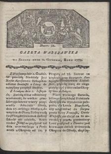 Gazeta Warszawska. R. 1779 Nr 96