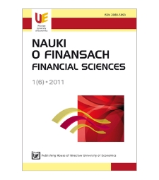 Performance budgeting and performance information in Poland and EU countries. Selected issues