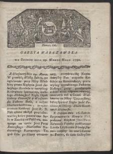 Gazeta Warszawska. R. 1780 Nr 26