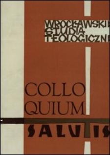 Colloquium Salutis : wrocławskie studia teologiczne. 7 (1975)