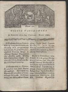 Gazeta Warszawska. R. 1780 Nr 51