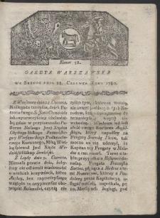 Gazeta Warszawska. R. 1780 Nr 52
